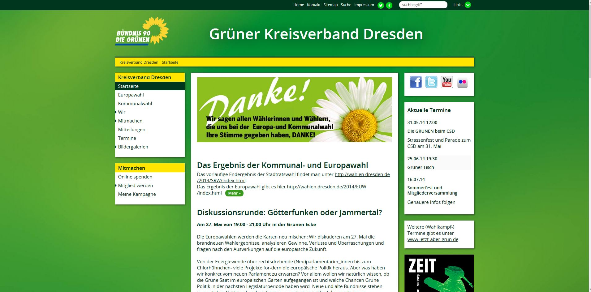 Grüne Dresden